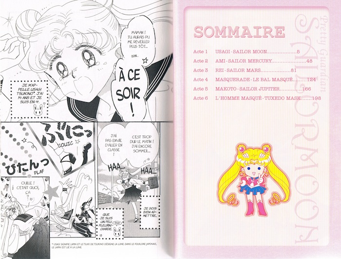 Sailor Moon page 3