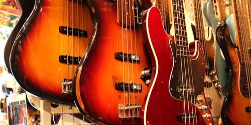Magasin de guitares Big Boss à Tokyo