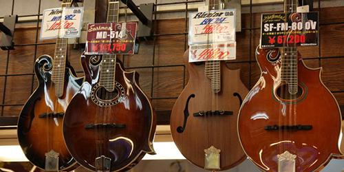LEs guitares de Kurosawa a Tokyo