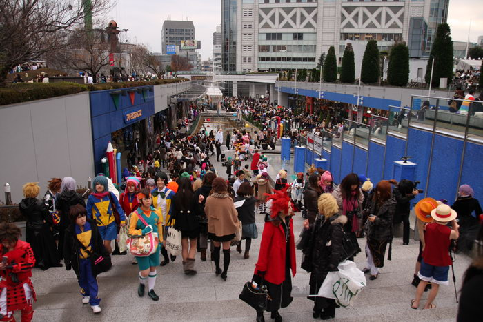 cosplay tokyo dome