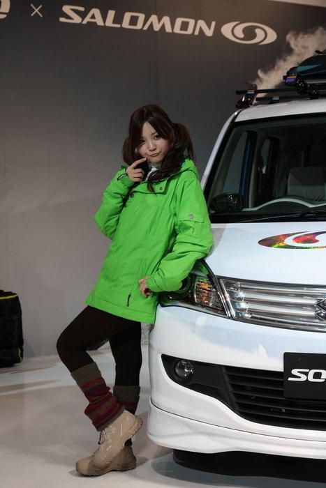 tokyo auto salon hotesses