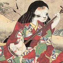 illustration d'un Youkaï, esprit Japonais