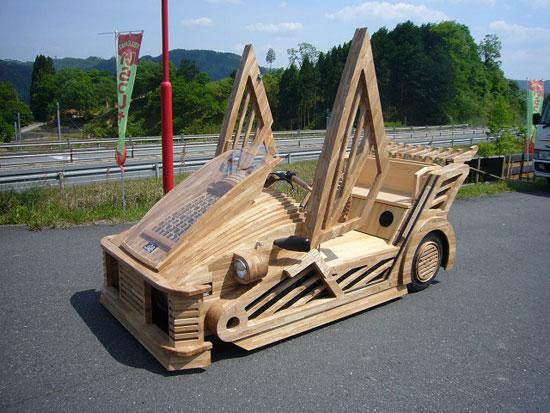 Wooden Supercar, la voiture en bois  IciJapon