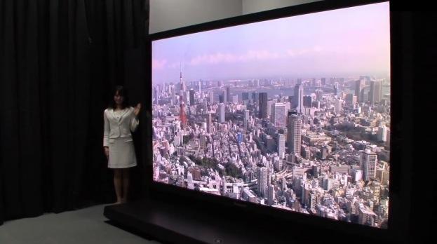 Un écran plasma UHD de 145 pouces - Ici-Japon