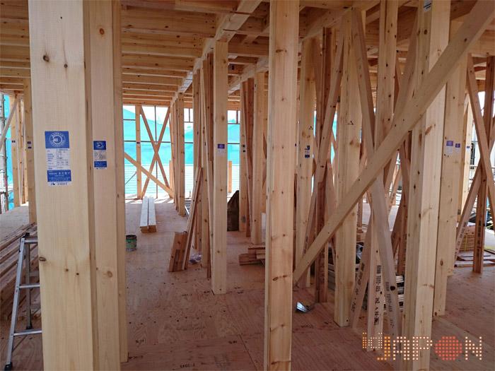 En direct du japon for Construction maison japonaise