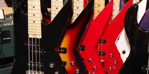 Magasin de guitares à Tokyo ESP Guitar Workshop