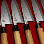 Les couteaux du magasin Union Commerce à Tokyo
