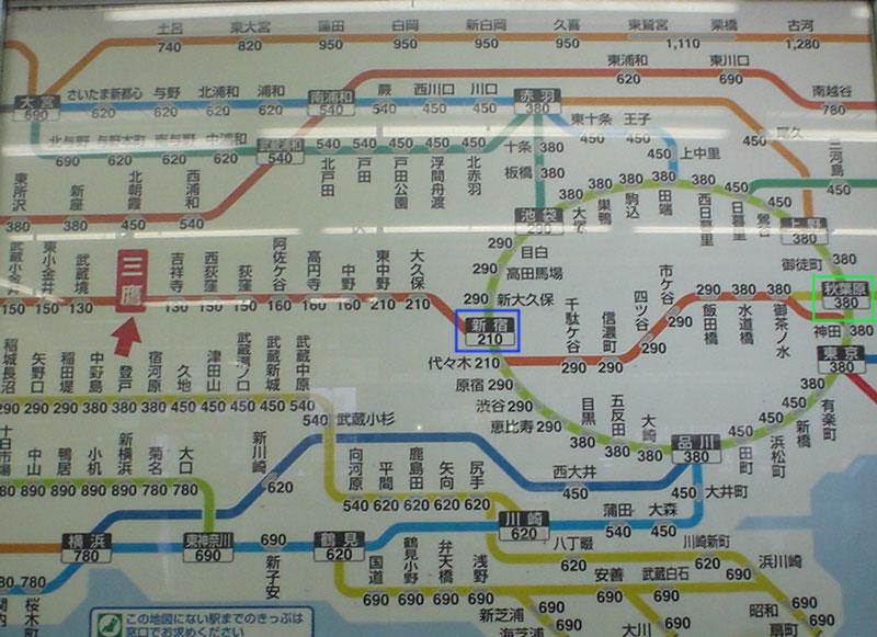 Voici Un Exemple En Image Sur La Ligne JR
