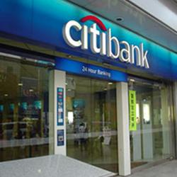 Photo d'une banque Citibank au Japon