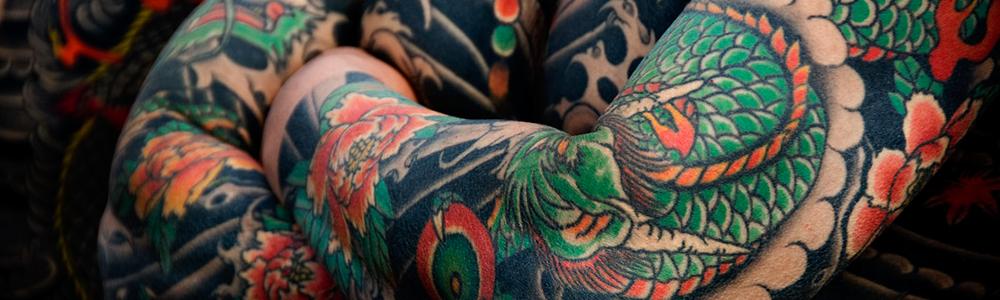 Photo d'un tatouage japonais