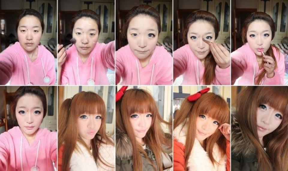 Le maquillage est parfois trompeur - Ici-Japon da4958e45fc
